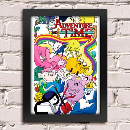 Poster Hora de Aventura (Mod.2)