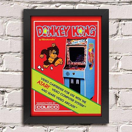 Poster Donkey Kong Atari