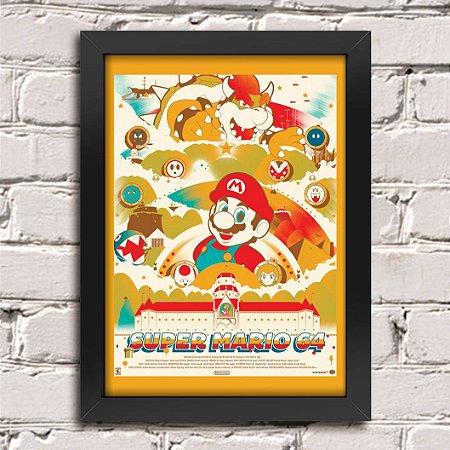 Poster Super Mario Nintendo 64