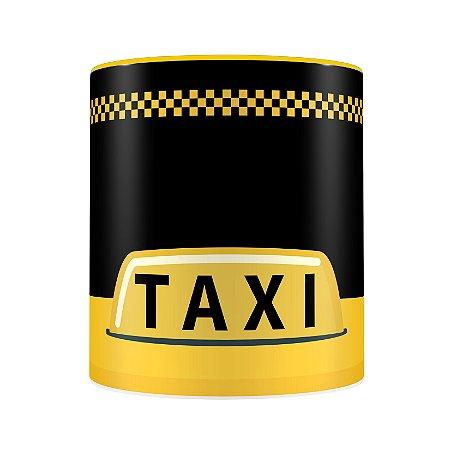 Caneca Personalizada Porcelana Profissão Taxista