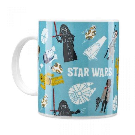 Caneca Personalizada Star Wars Bonecos