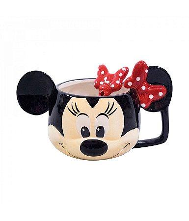 Caneca de Porcelana Cabeça Minnie