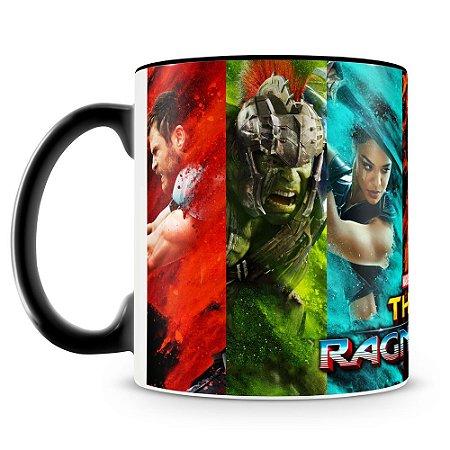 Caneca Personalizada Thor Ragnarok - Mod.3 (Preta)