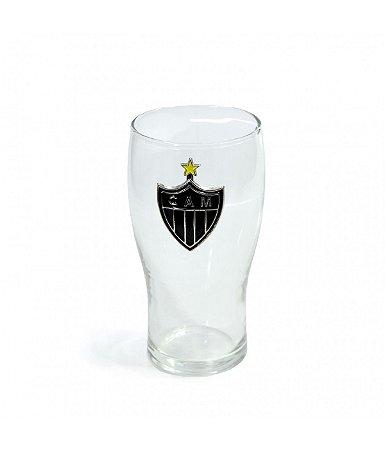 Copo de Vidro Brasão Atlético Mineiro