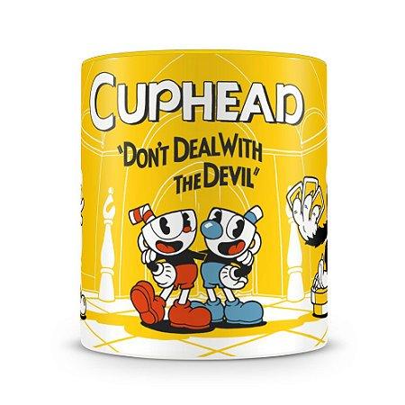 Caneca Personalizada Porcelana Cuphead (Mod.2)