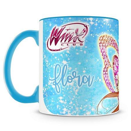 Caneca Personalizada Clube das Winx (Flora)