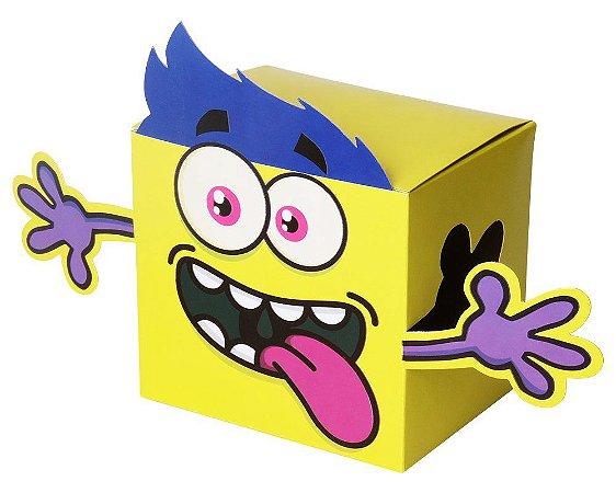Caixinha de Presente para Caneca Uniquitos Amarela