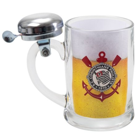 Caneco de Cerveja Campainha Time Corinthians
