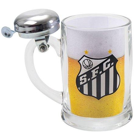 Caneco de Cerveja Campainha Time Santos