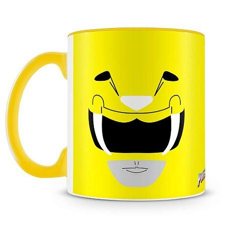 Caneca Personalizada Power Rangers (Ranger Amarelo)