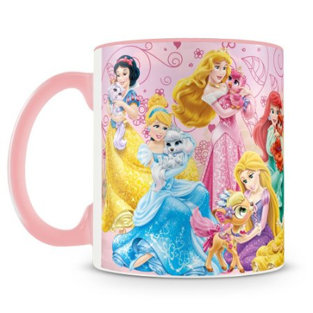 Caneca Personalizada Princesas & Pets