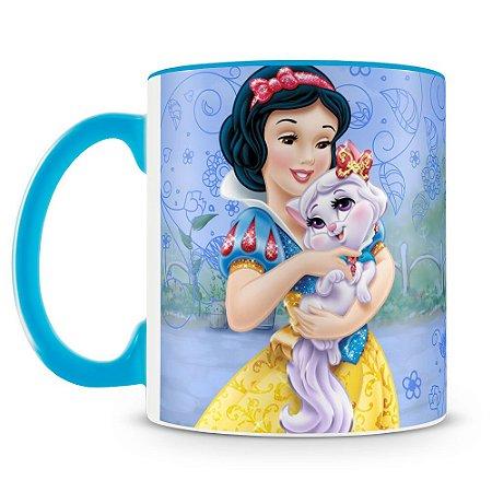 Caneca Personalizada Princesas & Pets (Branca de Neve)