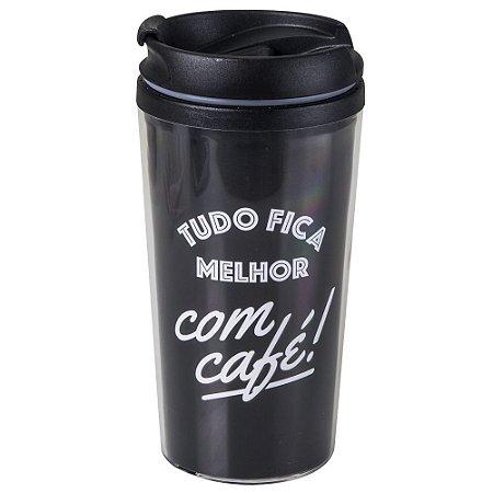 Copo Térmico Pop Tudo Fica Melhor com Café