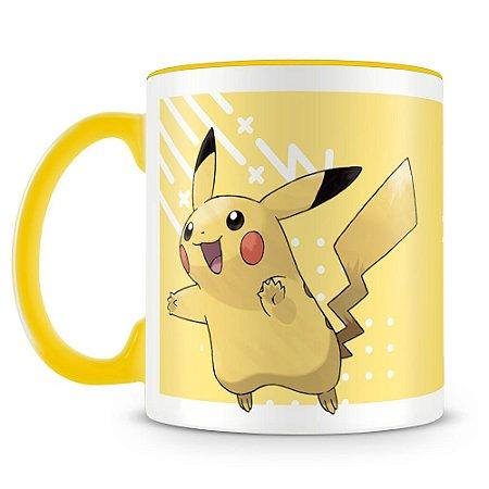 Caneca Personalizada Pokémon Pikachu (Mod.2)