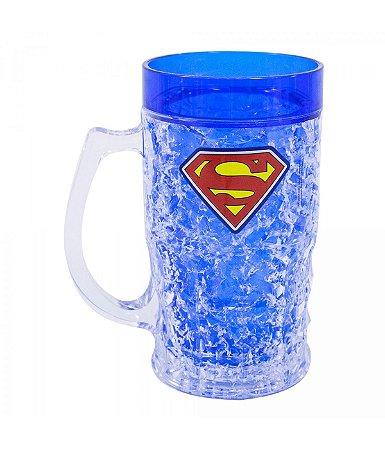 Caneca Gel Congelante Superman - Liga da Justiça