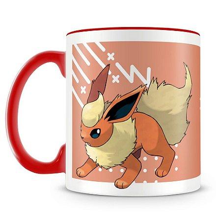 Caneca Personalizada Pokémon Flareon