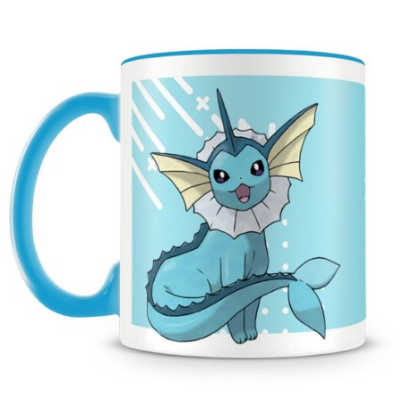 Caneca Personalizada Pokémon Vaporeon