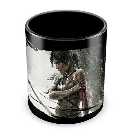 Caneca Personalizada Tomb Raider (100% Preta)