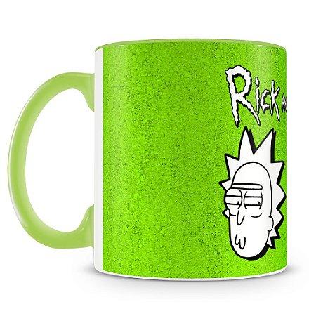 Caneca Personalizada Rick and Morty (Mod.2)