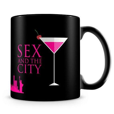 Caneca Personalizada Sex and the City (100% Preta)