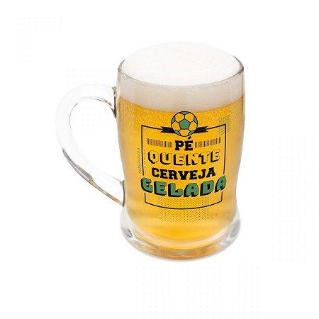 Caneco de Chopp Termossensível Pé Quente Cerveja Gelada
