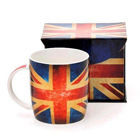 Caneca de Porcelana Bandeira da Inglaterra