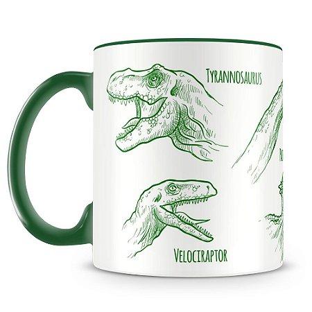 Caneca Personalizada Dinossauros (Mod.1)