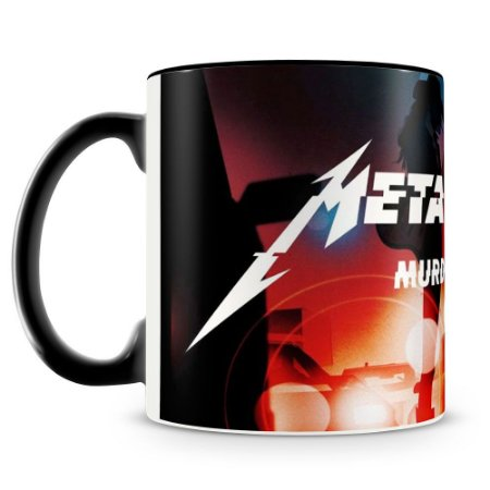 Caneca Personalizada Banda Metallica (Mod.3)