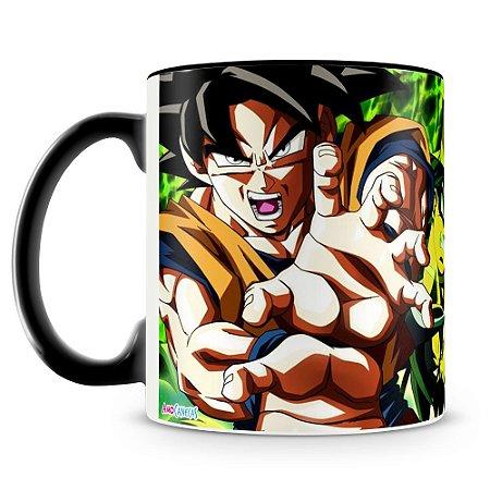 Caneca Personalizada Goku e Broly