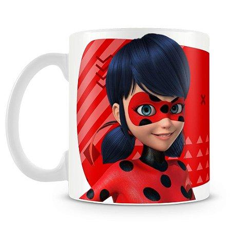 Caneca Plástica Personalizada Ladybug