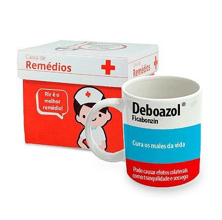 Caneca de Porcelana Remédio Deboazol