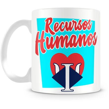 Caneca Personalizada Profissão Recursos Humanos