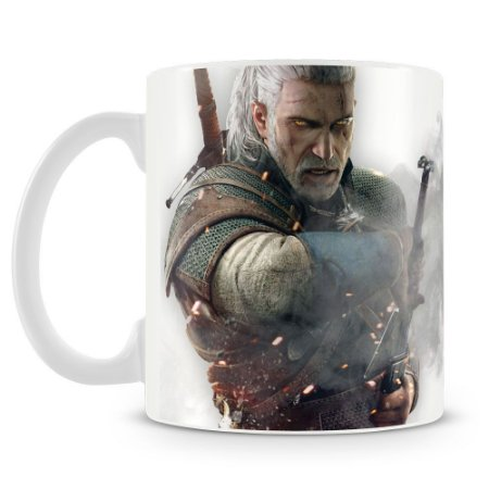 Caneca Personalizada The Witcher (Mod.2)