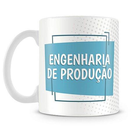 Caneca Personalizada Engenharia de Produção (Com Nome)