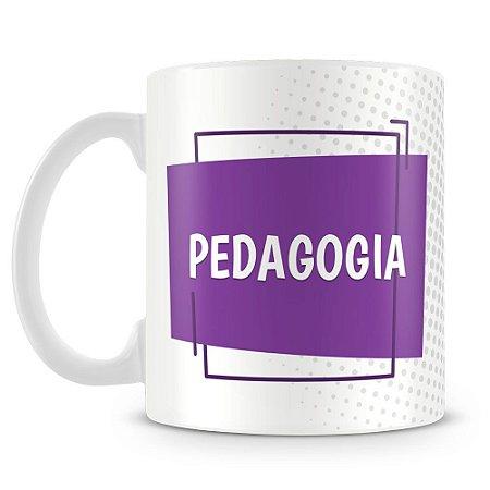 Caneca Personalizada Pedagogia (Com Nome)