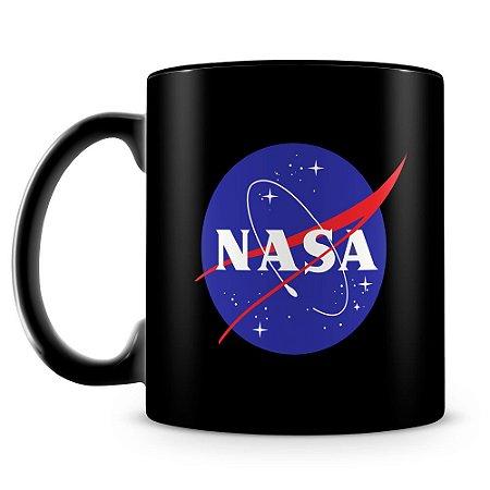 Caneca Personalizada NASA (100% Preta)
