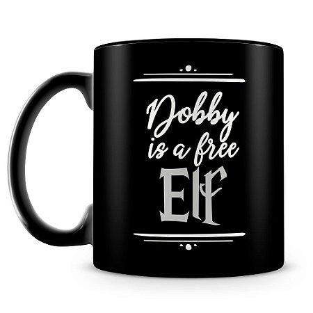 Caneca Personalizada Dobby (100% Preta)