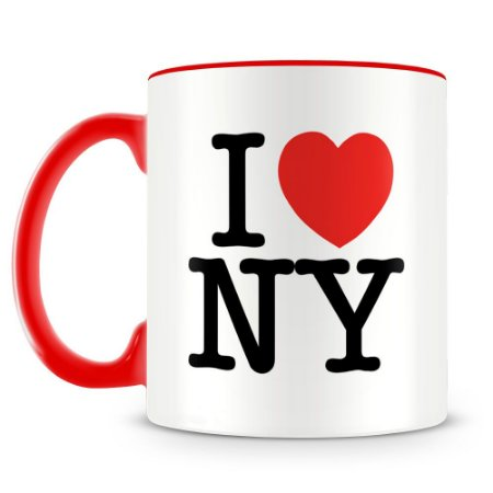 Caneca Personalizada I Love New York