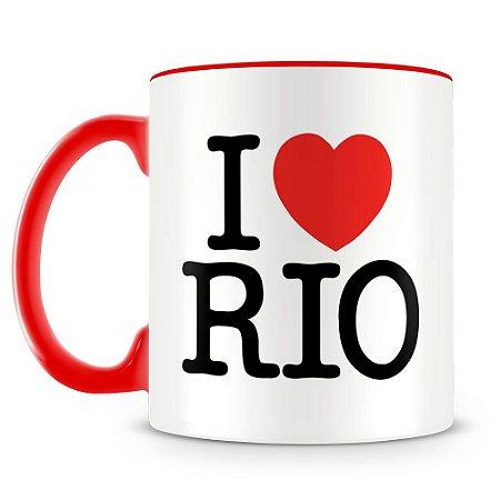 Caneca Personalizada I Love Rio de Janeiro