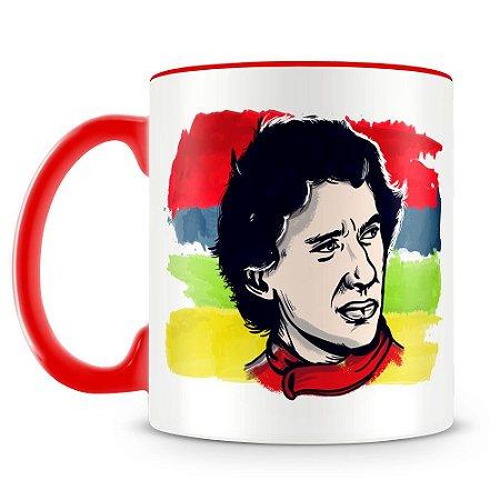 Caneca Personalizada Ayrton Senna