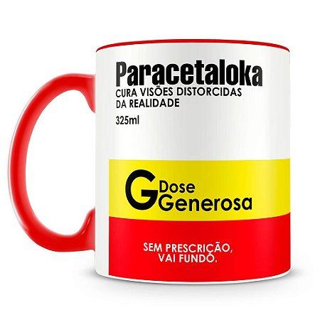 Caneca Personalizada Remédio Paracetaloka