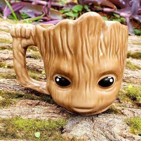 Caneca Formato 3D Baby Groot