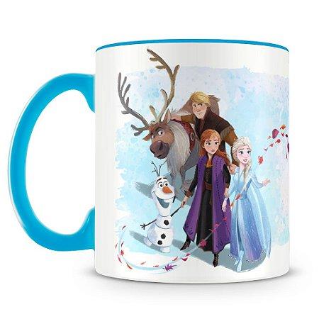 Caneca Personalizada Frozen 2 (Mod.2)