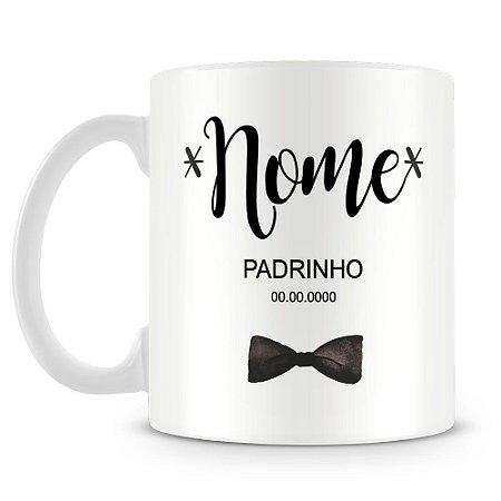Caneca Personalizada Padrinho (Com Nome)