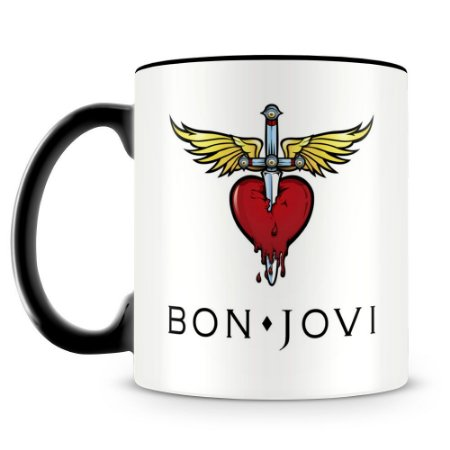 Caneca Personalizada Bon Jovi (Mod.2)