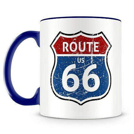 Caneca Personalizada Route 66