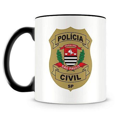 Caneca Personalizada Polícia Civil de São Paulo