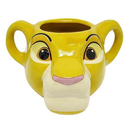 Caneca Formato 3D Simba Rei Leão