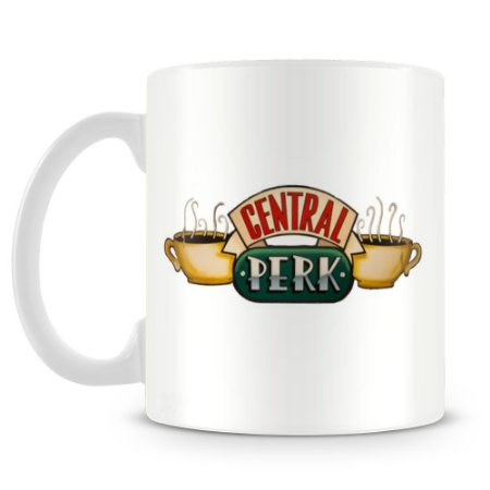 Caneca Personalizada Friends Central Perk