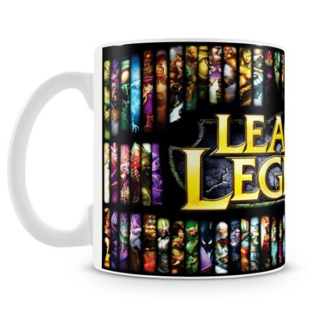 Caneca Personalizada League of Legends (Mod.1)